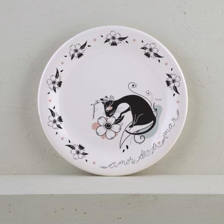 plato ceramica amazonica