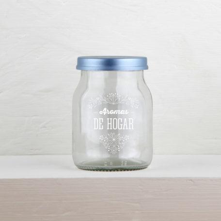frasco reciclado aromas