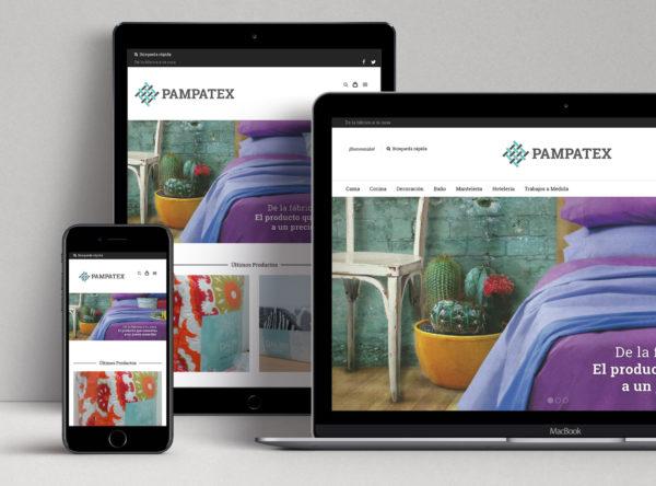 Pampatex | Diseño Web