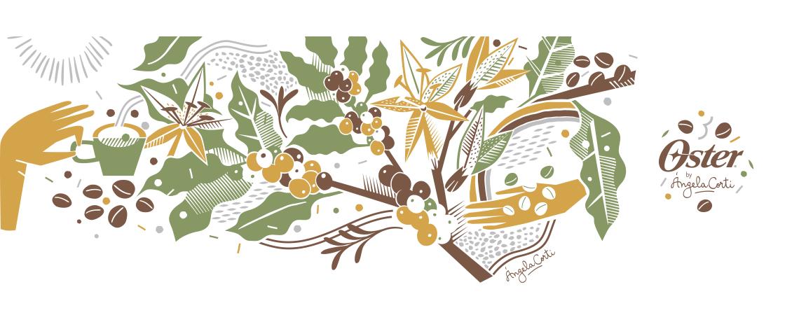 Ilustración para tazas Oster