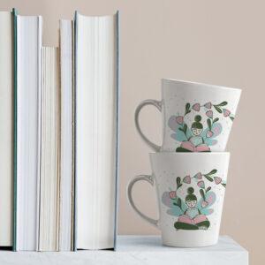 La Chica que Lee | Tazas Ilustradas