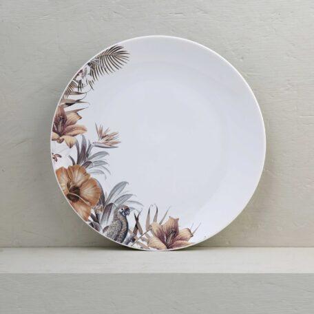 plato playo porcelana